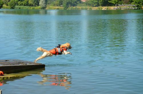 Esercitazione in acqua
