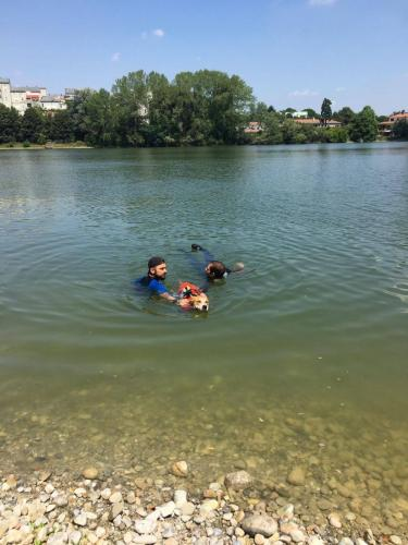 Esercitazioni in acqua